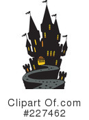 Haunted House Clipart #227462 by visekart