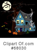 Haunted House Clipart #68030
