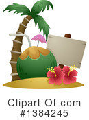 Royalty-Free (RF) Hawaii Clipart Illustration #1384245