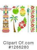 Hawaiian Clipart #1266280 by BNP Design Studio