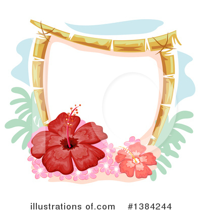 Royalty-Free (RF) Hawaiian Clipart Illustration by BNP Design Studio - Stock Sample #1384244
