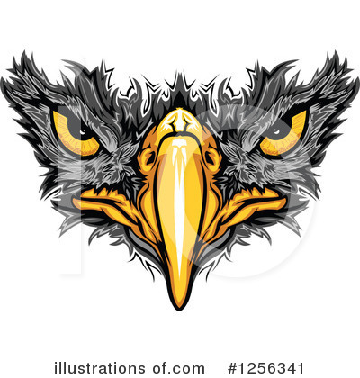 Eagle Clipart #1256341 by Chromaco