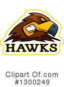 Hawk Clipart #1300249 by Cory Thoman
