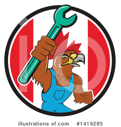 Hawk Clipart #1419285 by patrimonio