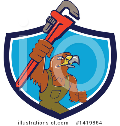 Hawk Clipart #1419864 by patrimonio