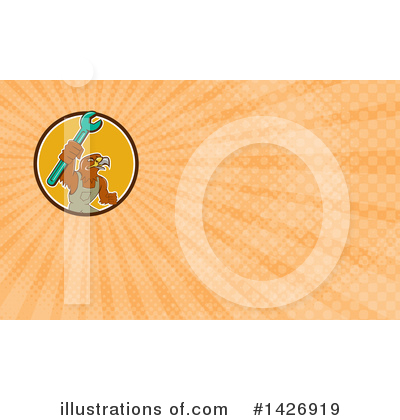 Business Card Design Clipart #1426919 by patrimonio