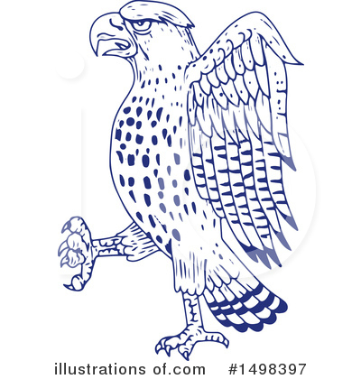 Hawk Clipart #1498397 by patrimonio
