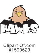 Hawk Clipart #1590623 by Johnny Sajem