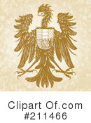 Royalty-Free (RF) Hawk Clipart Illustration #211466