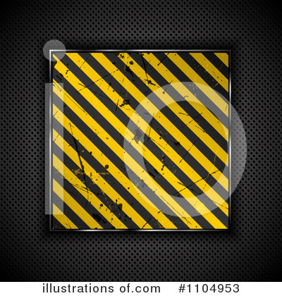 Hazard Stripes Clipart #1104953 by KJ Pargeter