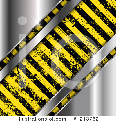 Hazard Stripes Clipart #1213762 by KJ Pargeter