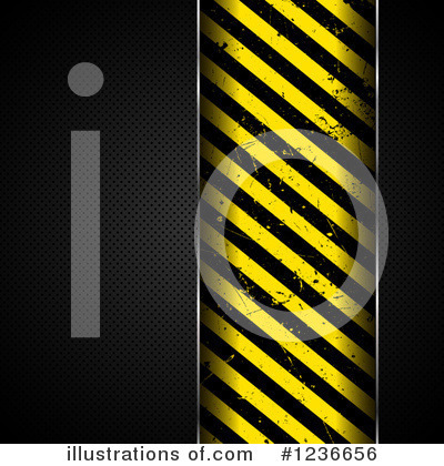 Royalty-Free (RF) Hazard Stripes Clipart Illustration by KJ Pargeter - Stock Sample #1236656