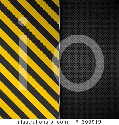 Hazard Stripes Clipart #1305919 by KJ Pargeter