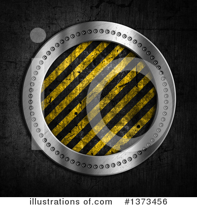 Hazard Stripes Clipart #1373456 by KJ Pargeter