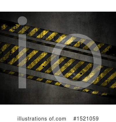 Hazard Stripes Clipart #1521059 by KJ Pargeter