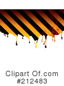 Hazard Stripes Clipart #212483 by michaeltravers
