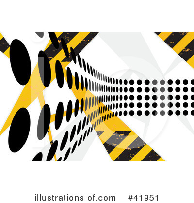 Hazard Stripes Clipart #41951 by Arena Creative