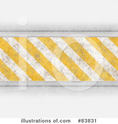Hazard Stripes Clipart #83831 by Arena Creative