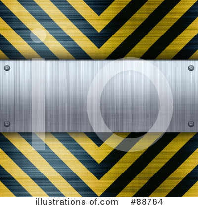 Hazard Stripes Clipart #88764 by Arena Creative
