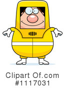 Royalty-Free (RF) Hazmat Clipart Illustration #1117031