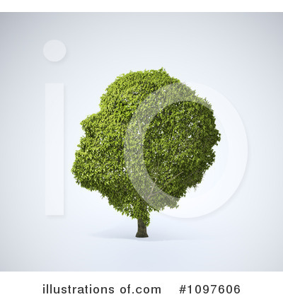 Brain Tree Clipart #1097606 by Mopic
