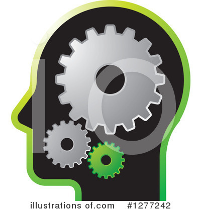 Royalty-Free (RF) Head Clipart Illustration by Lal Perera - Stock Sample #1277242