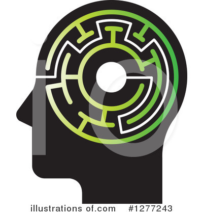 Head Clipart #1277243 by Lal Perera