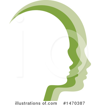 Head Clipart #1470387 by Lal Perera