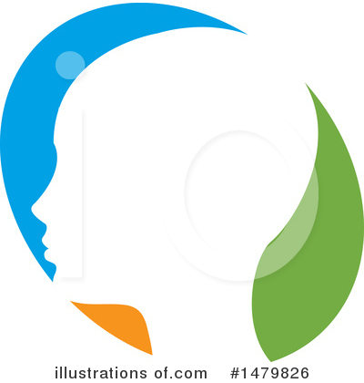 Head Clipart #1479826 by Lal Perera