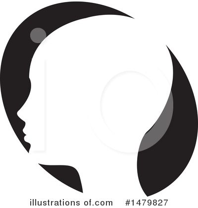 Head Clipart #1479827 by Lal Perera