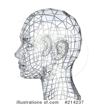 Royalty-Free (RF) Head Clipart Illustration by AtStockIllustration - Stock Sample #214237