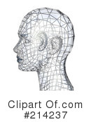 Royalty-Free (RF) head Clipart Illustration #214237