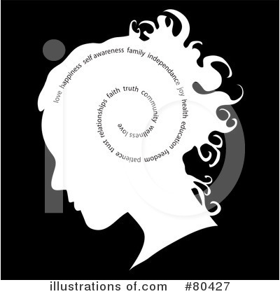 Head Clipart #80427 by Pams Clipart