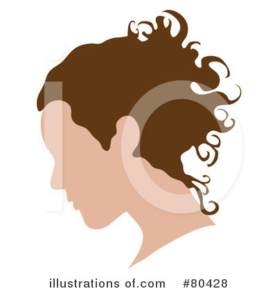Royalty-Free (RF) Head Clipart Illustration by Pams Clipart - Stock Sample #80428