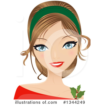 Hairstyle Clipart #1344249 by Melisende Vector