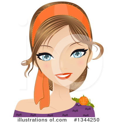 Hairstyle Clipart #1344250 by Melisende Vector