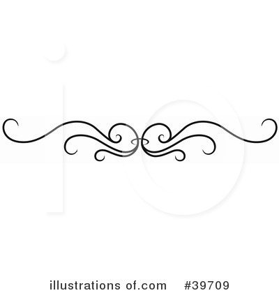 Royalty-Free (RF) Headers Clipart Illustration by dero - Stock Sample #39709