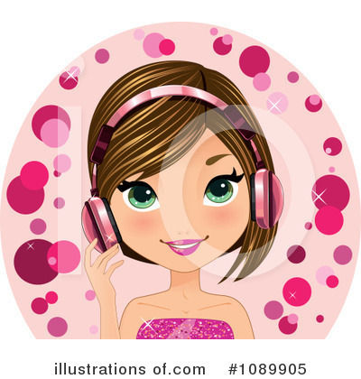 Dj Clipart #1089905 by Melisende Vector