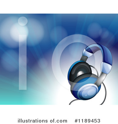 Headphones Clipart #1189453 by Graphics RF