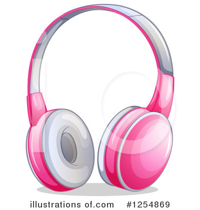 Headphones Clipart #1254869 by Graphics RF