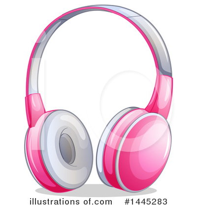 Headphones Clipart #1445283 by Graphics RF