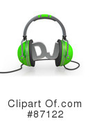 Headphones Clipart #87122 by 3poD