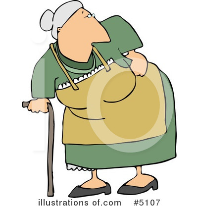 Old People Clipart #5107 by djart