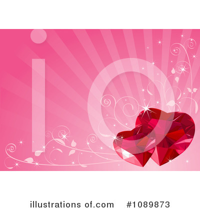Ruby Heart Clipart #1089873 by Pushkin