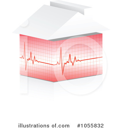 Heartbeat Clipart #1055832 by Andrei Marincas