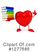 Heart Character Clipart #1277585 by Julos