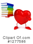 Heart Character Clipart #1277586 by Julos