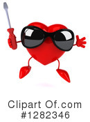 Heart Character Clipart #1282346 by Julos