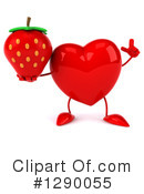 Heart Character Clipart #1290055 by Julos