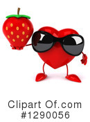 Heart Character Clipart #1290056 by Julos
